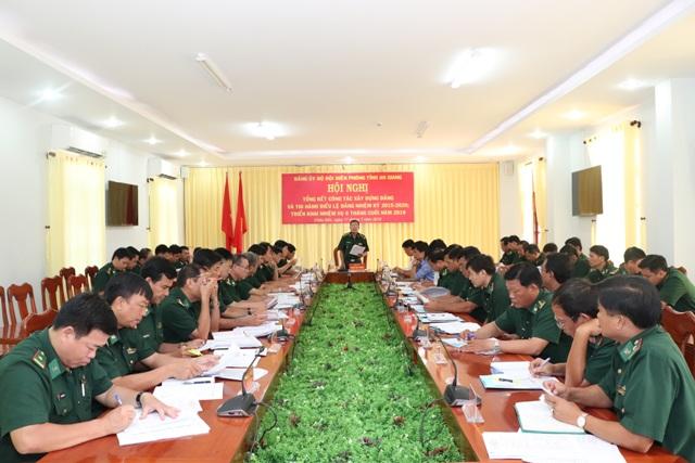 Công tác xây dựng Đảng ở Đảng ủy Bộ đội Biên phòng An Giang